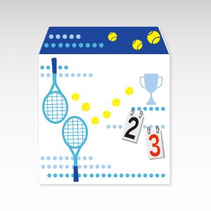 スマッシュ!テニス/ぽち袋(小) 5枚入