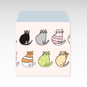 おしゃれキャット(猫)/コイン(硬貨)用ぽち袋(小)5枚