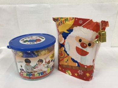 【クリスマス限定セット!!】カーペンターブロック 大バケツ 4色+クリスマスプレゼント付き