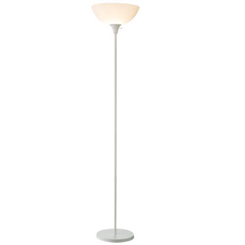 White top floor lamp garret white top floorlamp mozeypictures Choice Image
