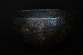 井内素/こげ茶・七寸深鉢