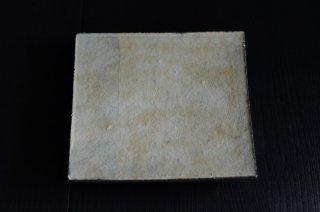 井内 素/白・正方板皿(小)