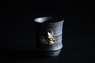 濱中史朗/カップ/摩黒・スカル・銀箔