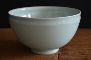 河合正光/青磁 深鉢
