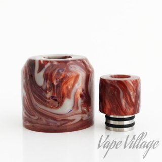 <img class='new_mark_img1' src='https://img.shop-pro.jp/img/new/icons15.gif' style='border:none;display:inline;margin:0px;padding:0px;width:auto;' />White Owl Mods 「O-Atty Acrylic Top Cap Set」Resinキャップ / トップキャップ / ポーランド / ODIS