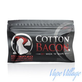 <img class='new_mark_img1' src='https://img.shop-pro.jp/img/new/icons15.gif' style='border:none;display:inline;margin:0px;padding:0px;width:auto;' />Wick N Vape 「Cotton Bacon V2」 コットンベーコン / VAPE用 / ふわふわ / リビルダブル用品 / USA産