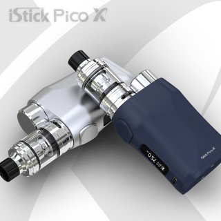 <img class='new_mark_img1' src='https://img.shop-pro.jp/img/new/icons15.gif' style='border:none;display:inline;margin:0px;padding:0px;width:auto;' />Eleaf 「iStick PICO X & MELO 4 KIT」 ピコX+メロ4 BOXスターターキット 電子タバコ本体 温度管理対応 テクニカル