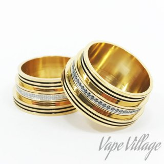 Carlos Creation「Trinity -Gold-」トリニティ ★★★★★ 26650MOD Dress Ring / Beauty Ring カスタムパーツ / ドレスパーツ