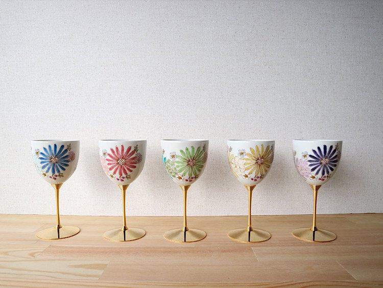 華 ワインカップ(各色)