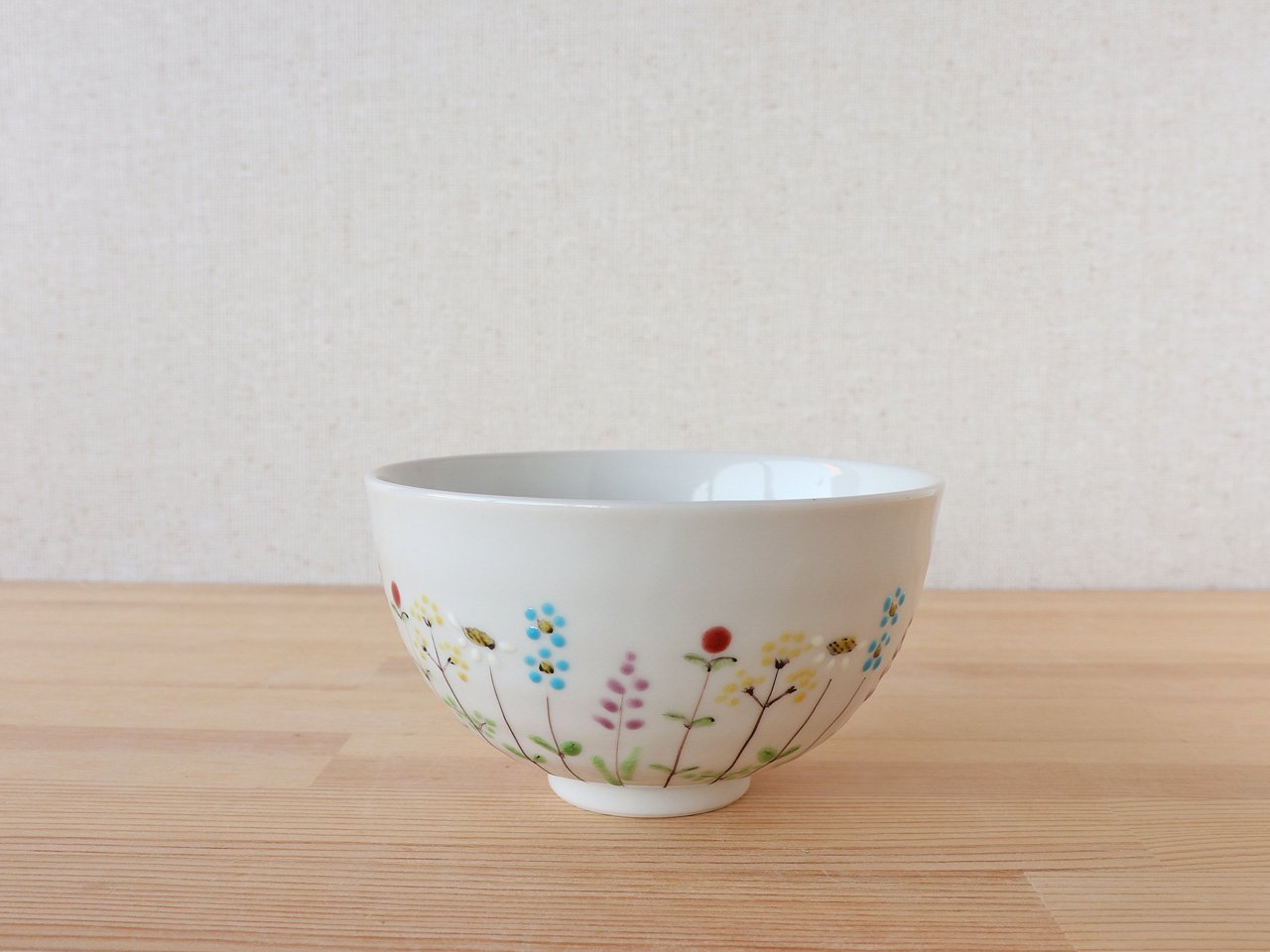 花の小路 ごはん茶碗