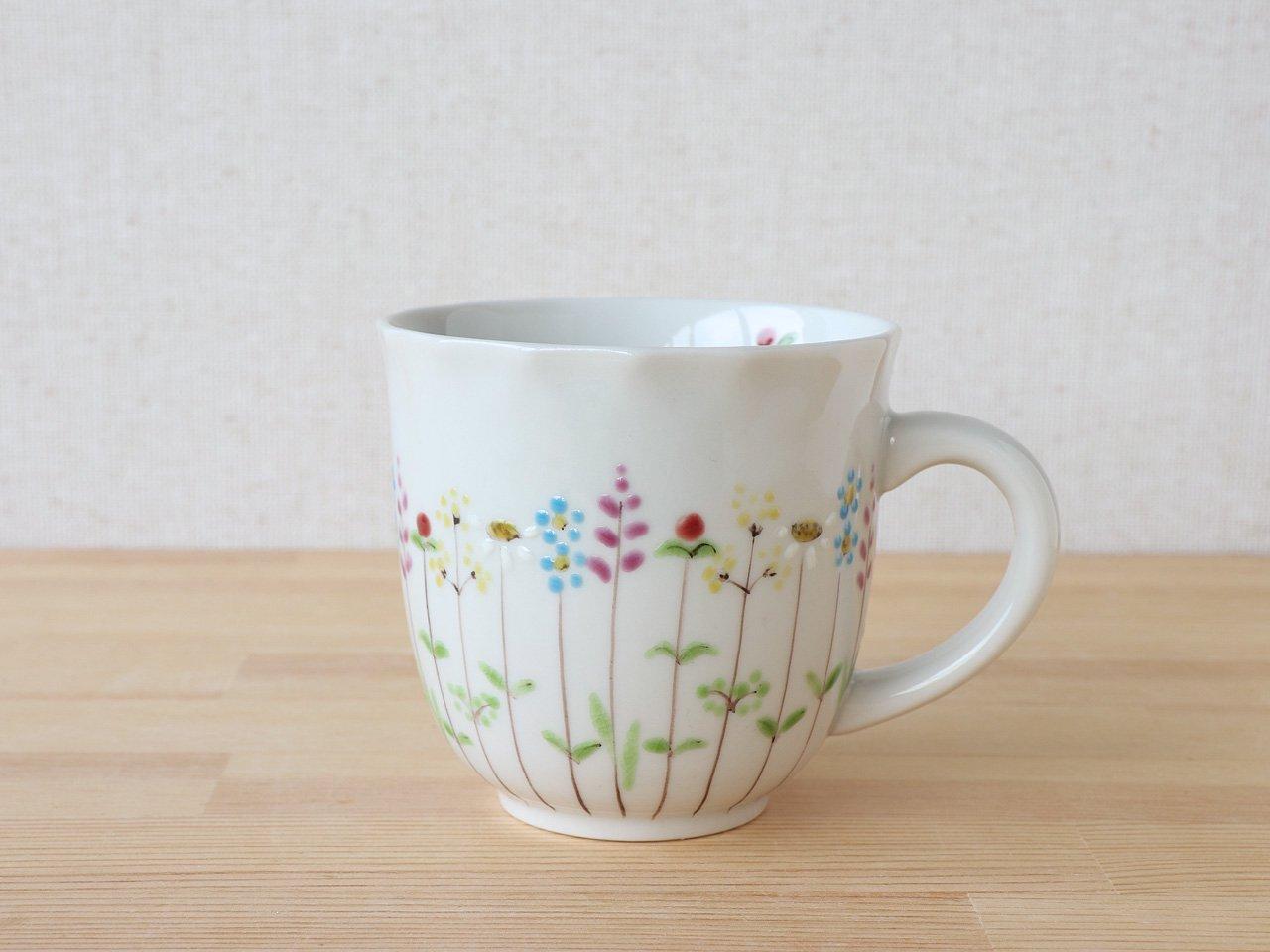 花の小路 マグカップ