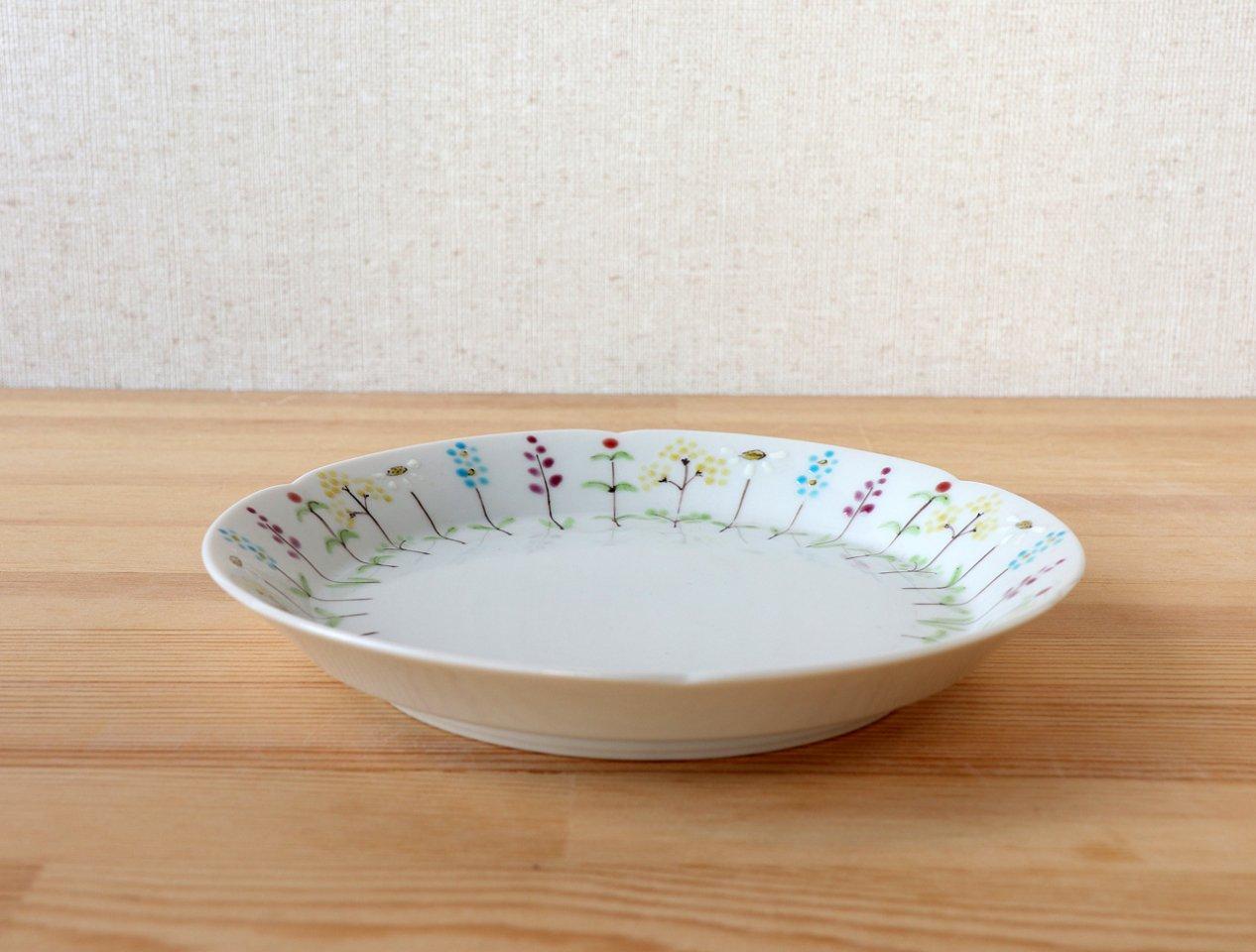 花の小路 5寸皿