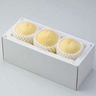 清水白桃 ロイヤル 3玉 岡山県産 JAおかやま 送料無料 【7月中旬より発送】