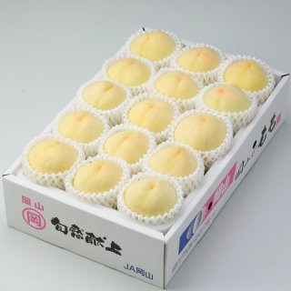 清水白桃 エース 8〜16玉 岡山県産 JAおかやま 送料無料 【7月中旬より発送】