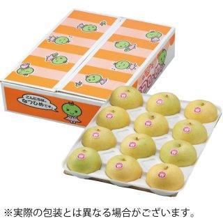 梨 なつひめ 赤秀 4L〜3Lサイズ 12〜14玉 約5kg 鳥取県産 JA鳥取中央【8月下旬より発送】