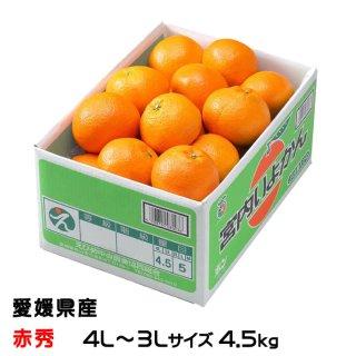 みかん 宮内伊予甘 赤秀 4L~3Lサイズ 4.5kg JAえひめ中央 中島産 ミカン 蜜柑 いよかん
