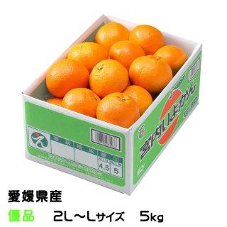 みかん 宮内伊予甘 優品 2L〜Lサイズ 5kg JAえひめ中央 中島産 ミカン 蜜柑 いよかん