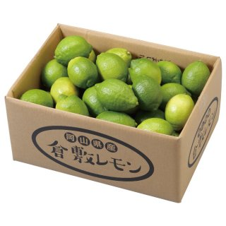 レモン 倉敷レモン 青秀 2L〜M 5kg 岡山県 倉敷産  れもん 檸檬