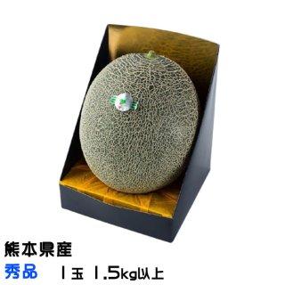 肥後グリーン メロン 熊本県(八代産)秀品 1玉 1.5kg以上