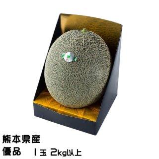 肥後グリーン メロン 熊本県(八代産)優品 1玉 2.0kg以上