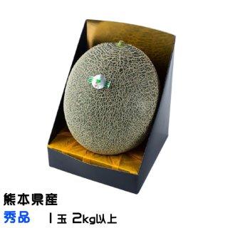肥後グリーン メロン 熊本県(八代産)秀品 1玉 2.0kg以上