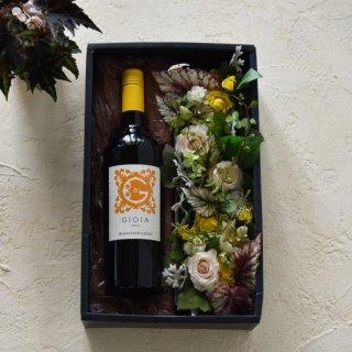 父の日 Wine &Flower(プリザーブドフラワー)