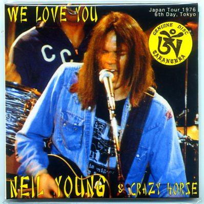 2nd Edition Neil Young Quot We Love You Quot 2 Cd Tarantura Cd