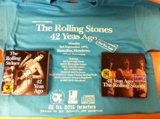 Sample CD+T Set! The Roling Stones