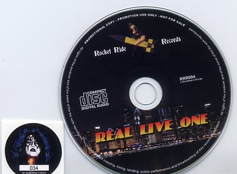 Frehley S Comet Quot Real Live One Quot Rocket Ride Records Cd