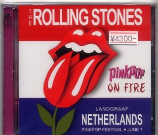 "<img class='new_mark_img1' src='//img.shop-pro.jp/img/new/icons25.gif' style='border:none;display:inline;margin:0px;padding:0px;width:auto;' />The Rolling Stones, ""Pinkpop On Fire"" (Rattlesnake RS 264/65)"