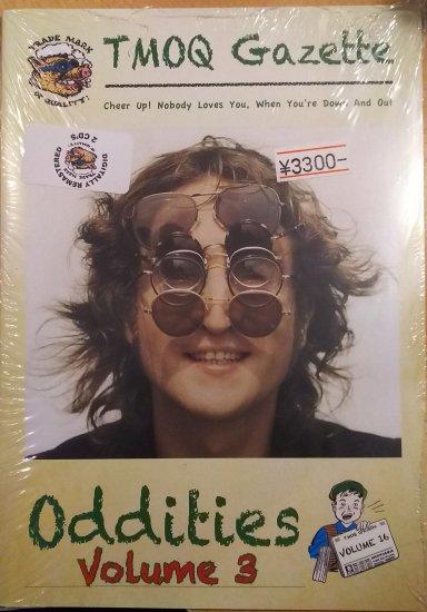 John Lennon Quot Oddities Volume 3 Quot Tmoq Gazette Vol 16 Cd