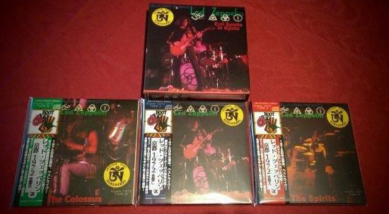 Led Zeppelin Quot Evil Spirits In Kyoto ライヴフォト Edition Quot 6 Cd