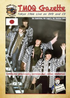 <img class='new_mark_img1' src='https://img.shop-pro.jp/img/new/icons12.gif' style='border:none;display:inline;margin:0px;padding:0px;width:auto;' />The Beatles ‎– Tokyo 1966 Live on DVD and CD TMOQ Gazette – Volume 25