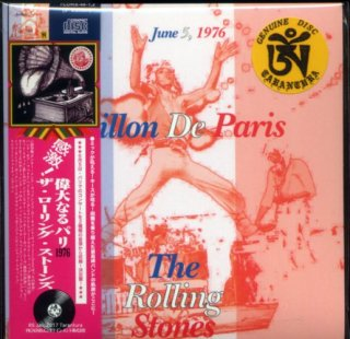 "<img class='new_mark_img1' src='//img.shop-pro.jp/img/new/icons2.gif' style='border:none;display:inline;margin:0px;padding:0px;width:auto;' />The Rolling Stones ""Avillon De Paris"" 2 CD. Tarantura"