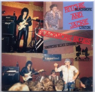 """<img class='new_mark_img1' src='https://img.shop-pro.jp/img/new/icons8.gif' style='border:none;display:inline;margin:0px;padding:0px;width:auto;' />Ritchie Blackmore and Jackie Lynton """"BLACKMORE BLUES-American Blues Legend 1987"""" Men In Black"""