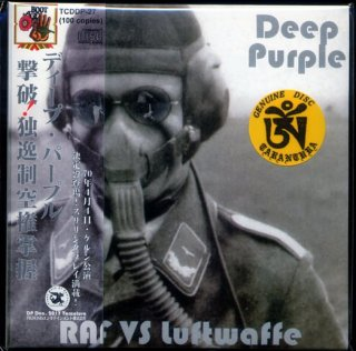 deep purple raf vs luftwaffe 2 cd tarantura cd museum pb. Black Bedroom Furniture Sets. Home Design Ideas