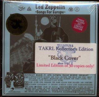 スリック黒ジャケ版!Led Zeppelin