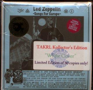 スリック白ジャケ版!Led Zeppelin