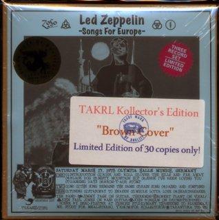 スリック茶ジャケ版!Led Zeppelin