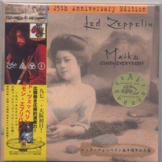 黄色帯・丸金色シール!Led Zeppelin