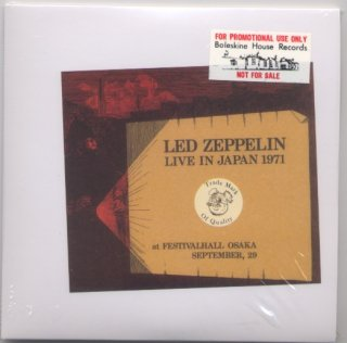 Promo/ Sample! White envelope! Led Zeppelin