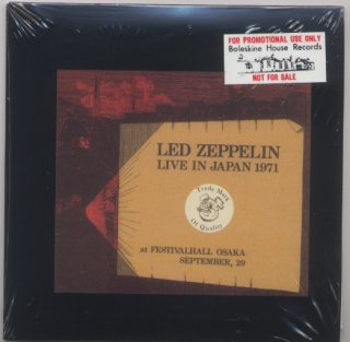 Promo/ Sample! Black envelope! Led Zeppelin