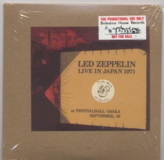 Promo/ Sample! Brown envelope! Led Zeppelin