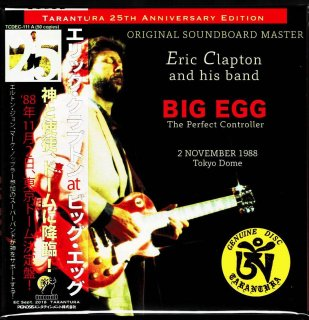 "Obi A! Eric Clapton ""BIG EGG-""The Perfect Controller""-2 CD, Tarantura"