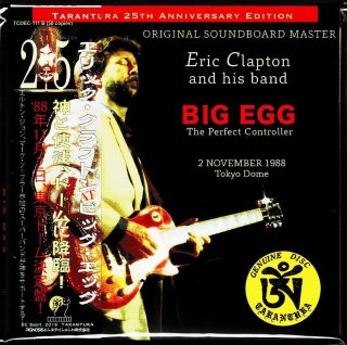 "Obi B! Eric Clapton ""BIG EGG-""The Perfect Controller""-2 CD, Tarantura"
