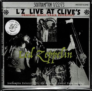 "Led Zeppelin ""Live At Clive's"" Boleskine House Records"