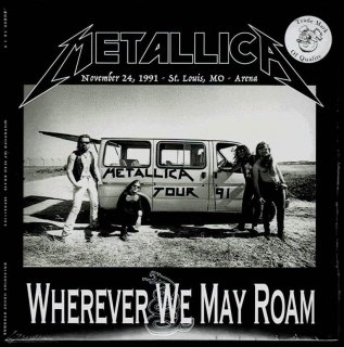 "Metallica ""Wherever We May Roam""-2 CD,  Boleskine House Records"