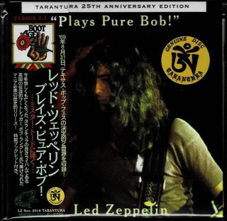 "Led Zeppelin """"Plays Pure Bob!""-2 CD with booklet. Tarantura"