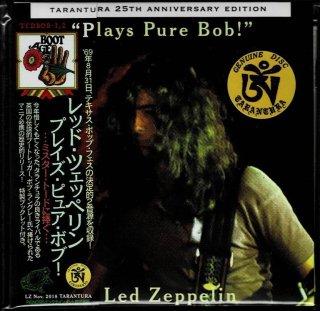 "Led Zeppelin """"Plays Pure Bob!""-2 CD with booklet. Tarantura"