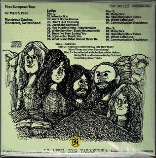 Swinesong Edition Led Zeppelin Quot In Rock Quot 3 Cd Tarantura
